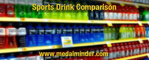 Sports Drink Comparison